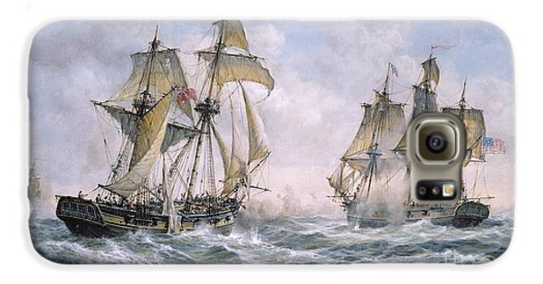 Action Between U.s. Sloop-of-war 'wasp' And H.m. Brig-of-war 'frolic' Galaxy S6 Case