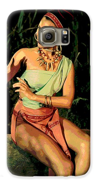 Actress Dorothy Fandridge Galaxy S6 Case by Charles Shoup
