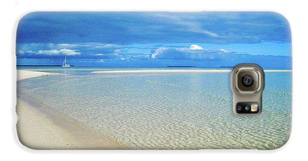Adagio Alone In Ouvea, South Pacific Galaxy S6 Case