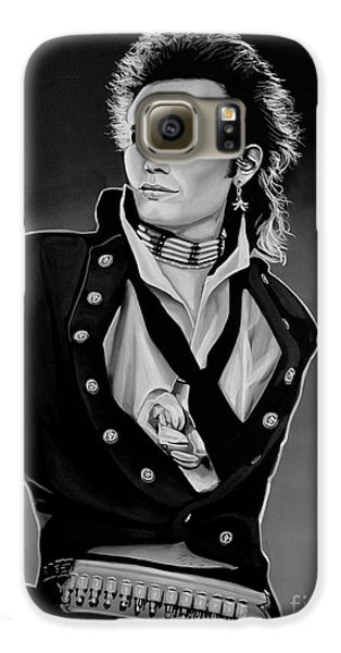 Ant Galaxy S6 Case - Adam Ant Painting by Paul Meijering