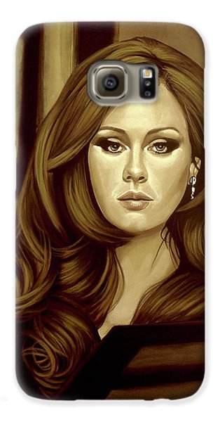 Adele Gold Galaxy S6 Case by Paul Meijering