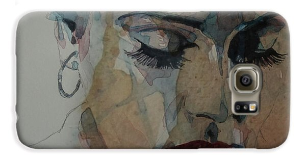 Adele - Make You Feel My Love  Galaxy S6 Case by Paul Lovering