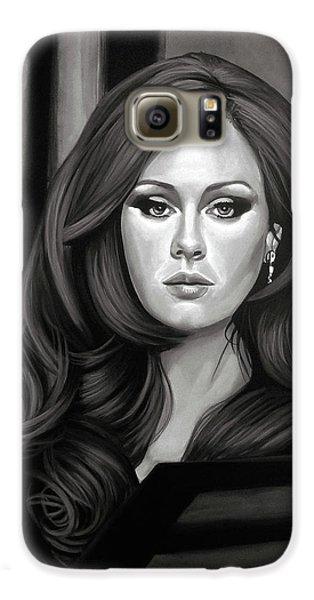 Adele Mixed Media Galaxy S6 Case