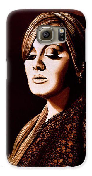 Adele Skyfall Gold Galaxy S6 Case by Paul Meijering