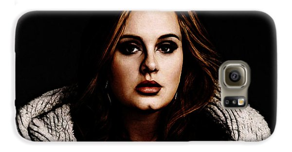 Adele Galaxy S6 Case by The DigArtisT