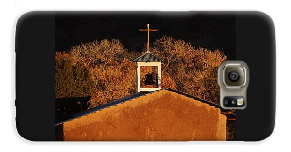Adobe Church At San Ildefonso Pueblo In Northern New Mexico Galaxy S6 Case