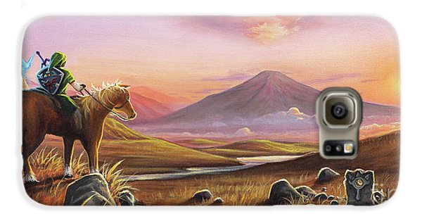 Elf Galaxy S6 Case - Adventure Awaits by Joe Mandrick