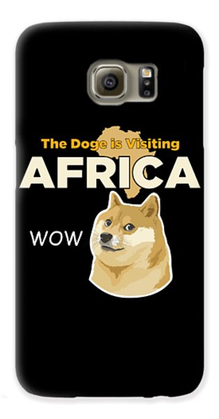 Africa Doge Galaxy S6 Case by Michael Jordan