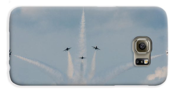 Air Force Thunderbirds Galaxy S6 Case by Linda Constant