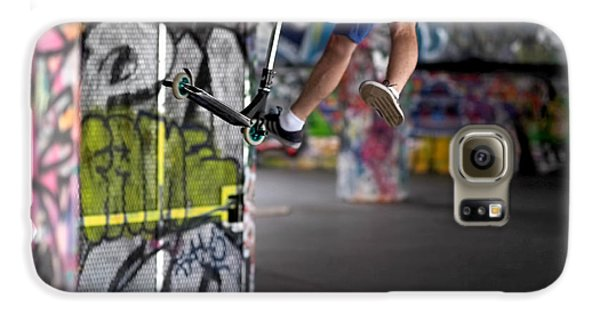 Airborne At Southbank Galaxy S6 Case by Rona Black