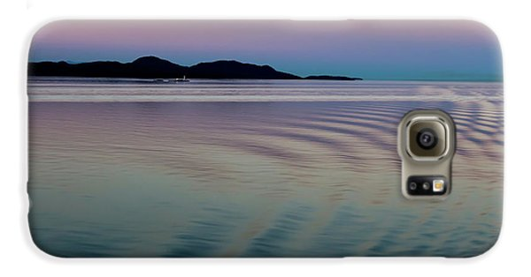 Alaskan Sunset At Sea Galaxy S6 Case