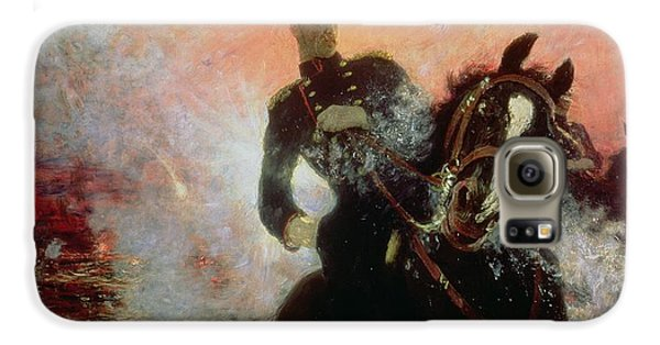 Albert I King Of The Belgians In The First World War Galaxy S6 Case by Ilya Efimovich Repin