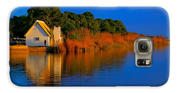 Albufera Blue. Valencia. Spain Galaxy S6 Case