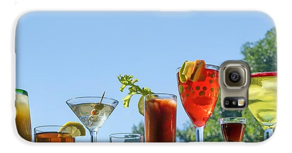 Bloody Mary Galaxy S6 Case - Alcoholic Beverages - Outdoor Bar by Nikolyn McDonald