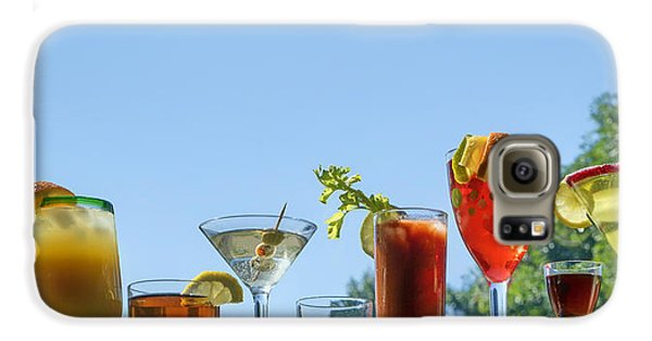 Alcoholic Beverages - Outdoor Bar Galaxy S6 Case by Nikolyn McDonald