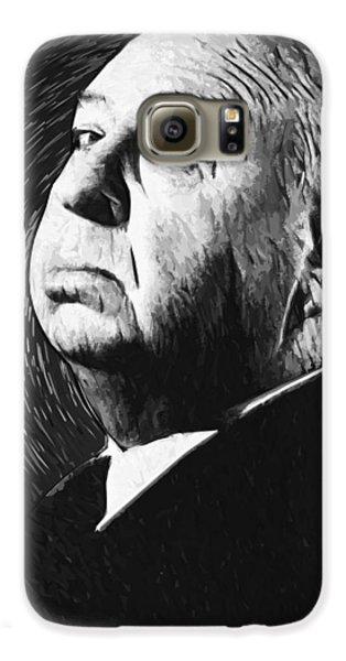 Alfred Hitchcock Galaxy S6 Case by Taylan Apukovska
