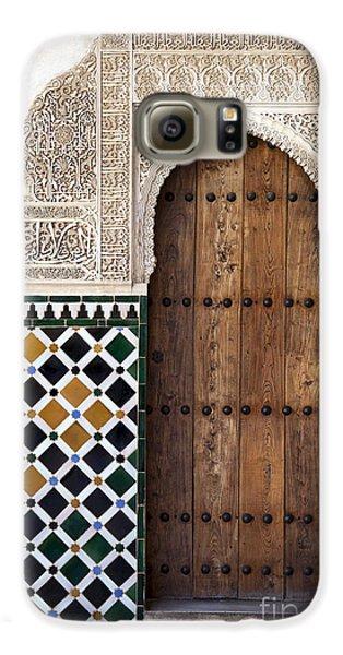 Travel Galaxy S6 Case - Alhambra Door Detail by Jane Rix