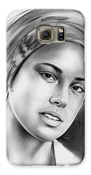 Rhythm And Blues Galaxy S6 Case - Alicia Keys 2 by Greg Joens