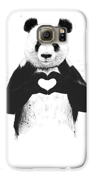 The White House Galaxy S6 Case - All You Need Is Love by Balazs Solti