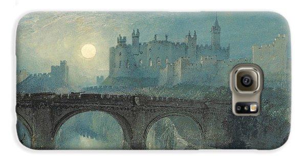 Alnwick Castle Galaxy S6 Case by Joseph Mallord William Turner