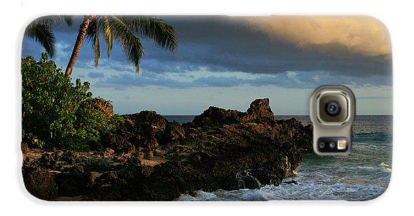 Aloha Naau Sunset Paako Beach Honuaula Makena Maui Hawaii Galaxy S6 Case