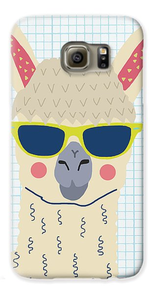 Alpaca Galaxy S6 Case by Nicole Wilson