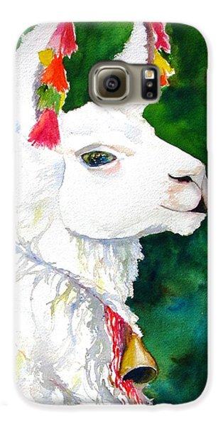 Llama Galaxy S6 Case - Alpaca With Attitude by Carlin Blahnik CarlinArtWatercolor