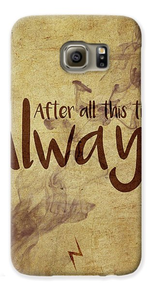 Wizard Galaxy S6 Case - Always by Samuel Whitton