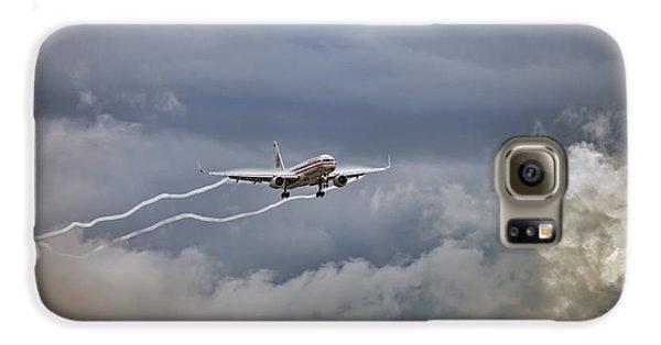 American Aircraft Landing Galaxy S6 Case by Juan Carlos Ferro Duque