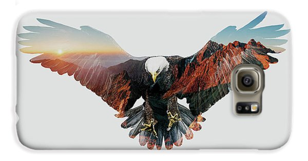 American Eagle Galaxy S6 Case by John Beckley