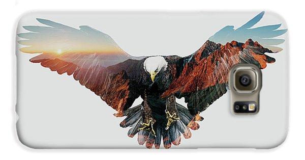 American Eagle Galaxy S6 Case by John Beckley