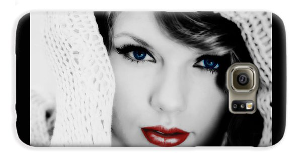 American Girl Taylor Swift Galaxy S6 Case by Brian Reaves