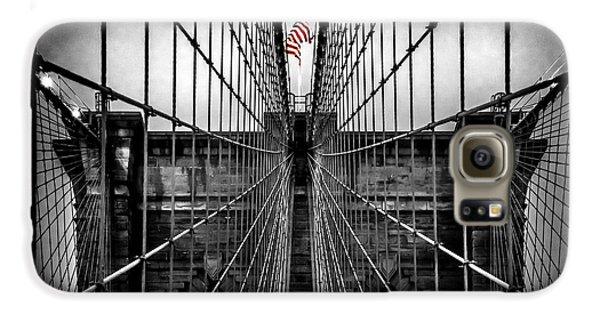 New York City Skyline Galaxy S6 Case - American Patriot by Az Jackson