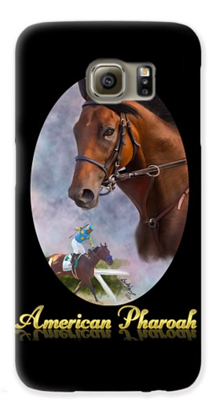 American Pharoah Framed Galaxy S6 Case