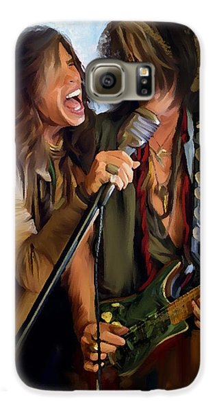 American Rock  Steven Tyler And Joe Perry Galaxy S6 Case