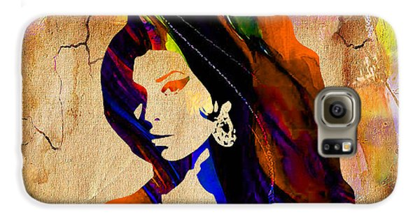 Rhythm And Blues Galaxy S6 Case - Amy Winehouse by Marvin Blaine