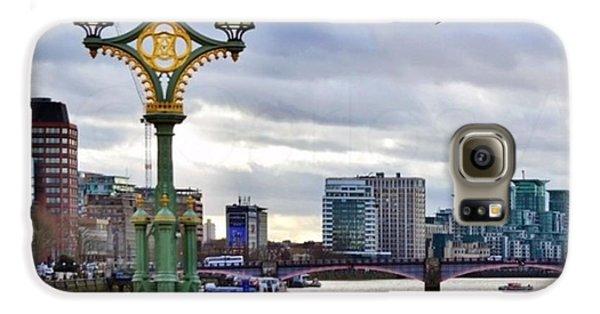 London Galaxy S6 Case - An Empty Westminster Bridge • #london by Carlos Alkmin