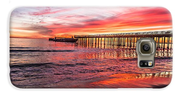 Seacliff Sunset Galaxy S6 Case by Lora Lee Chapman