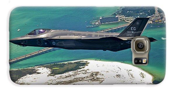 An F-35 Lightning II Flies Over Destin Galaxy S6 Case