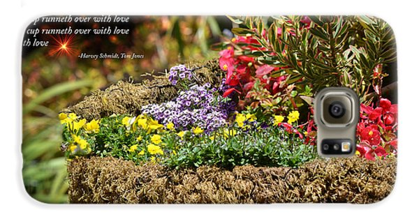 And So In This Moment With Sunlight Above II Galaxy S6 Case by Jim Fitzpatrick