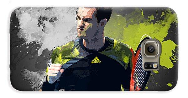 Andy Murray Galaxy S6 Case by Semih Yurdabak