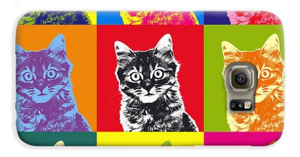 Andy Warhol Cat Galaxy S6 Case