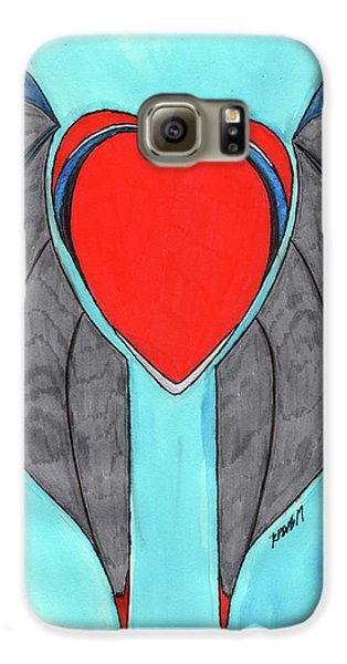 Angel Heart Galaxy S6 Case by Ronald Woods