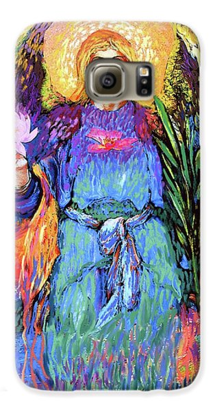 Lily Galaxy S6 Case - Angel Love by Jane Small