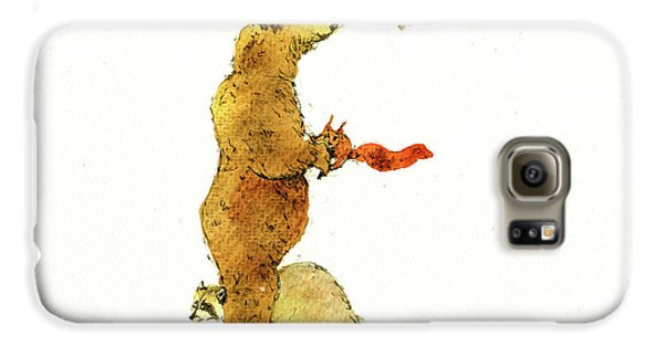 Animal Letter Galaxy S6 Case
