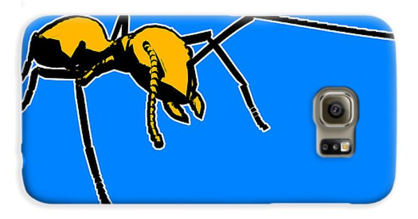 Ant Galaxy S6 Case - Ant Graphic  by Pixel  Chimp