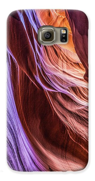 Antelope Canyon Air Glow Galaxy S6 Case