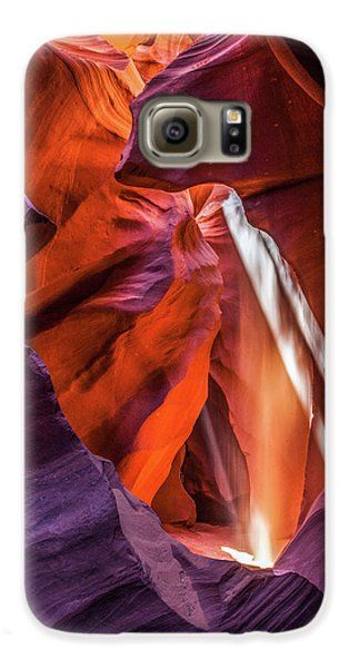 Antelope Canyon Lightshaft 3 Galaxy S6 Case