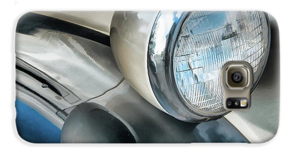 Antique Car Headlight And Reflections Galaxy S6 Case