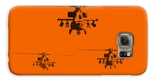 Helicopter Galaxy S6 Case - Apache Dawn by Pixel  Chimp